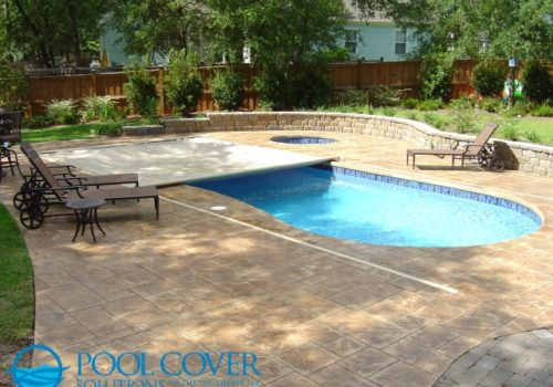 Charleston SC Automatic Safety Pool Cover Kidney Shaped Pool
