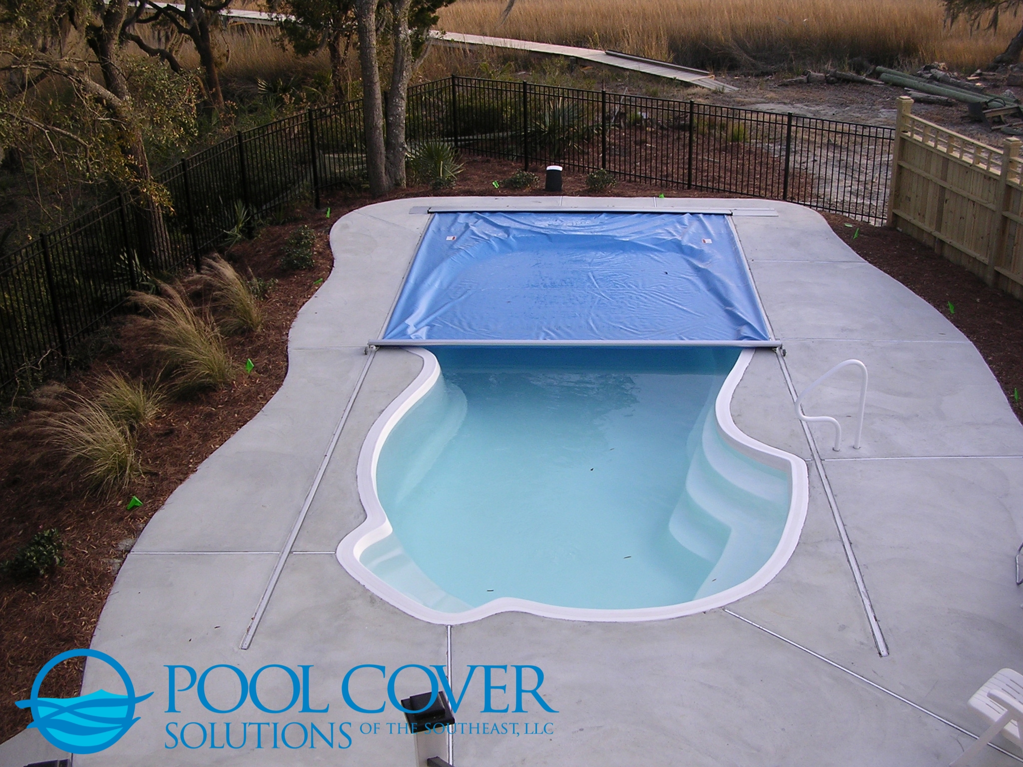 Charleston SC Safety Pool Cover Free Form Pool
