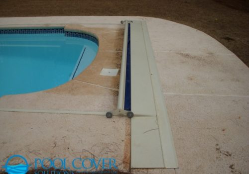 Greenville SC Safety Pool Cover with Hand Rails and Ladder