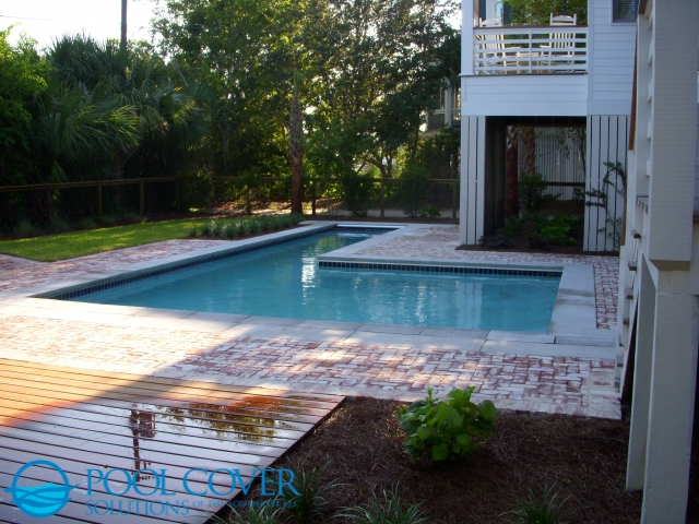 Isle of Palms, SC Pool Safety Covers L Shaped Pool