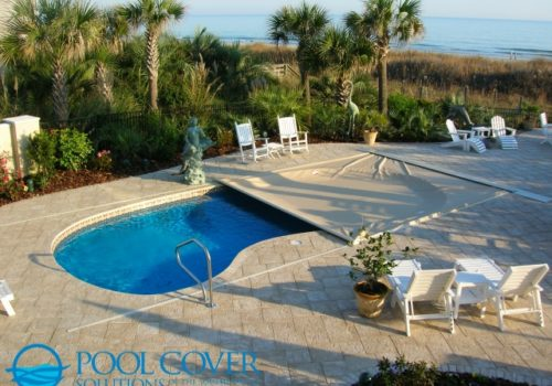 Kiawah SC Automatic Pool Cover Free Form Pool