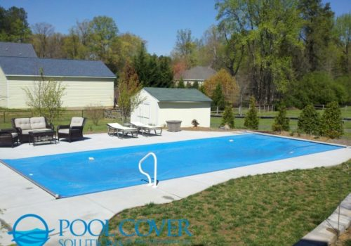 Lexington SC Safety Pool Cover Kidney Shape Pool