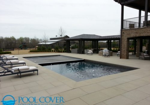 Lexington, SC Safety Pool Cover Pools with Sun Shelf