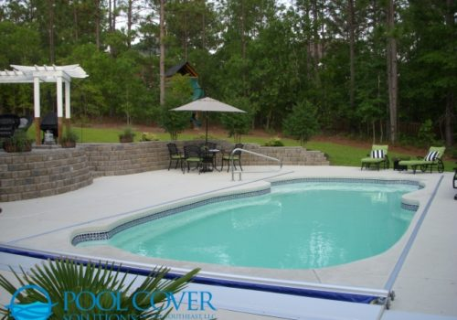 Mt Pleasant SC Safety Pool Cover Free Form Pool
