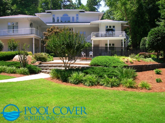 SC Removable Mesh Pool Fence with latching gate (21)