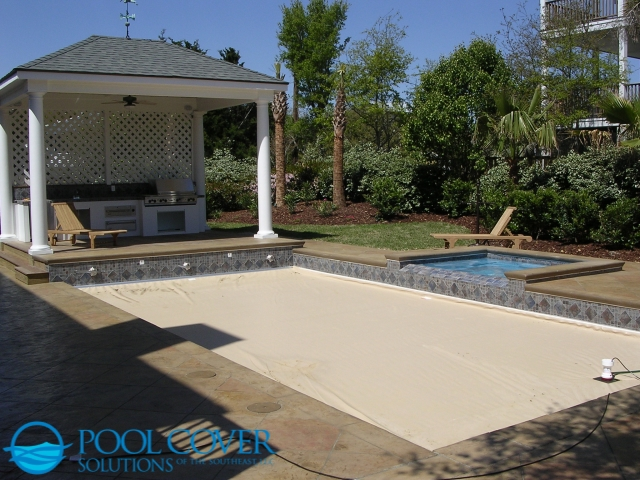 Sullivan's Island, SC Safety Pool Cover With Spa