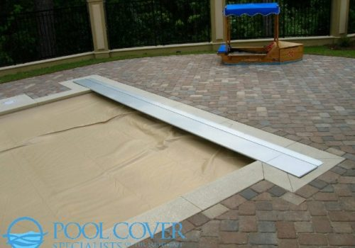 Aluminum Lid for a pool cover motor and container box