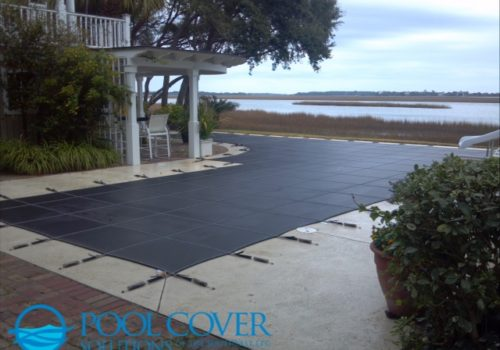 Beaufort SC Loop Loc winter mesh pool cover